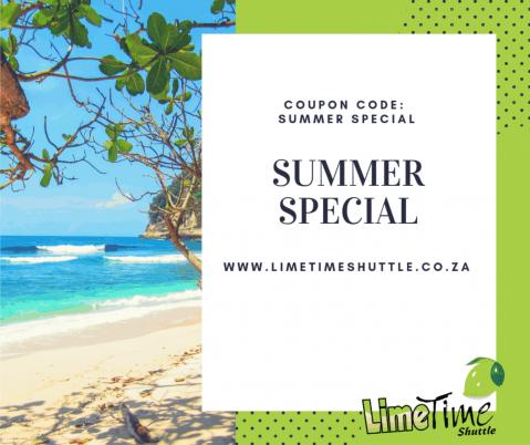 Limetime Shuttle ~  Summer Special !