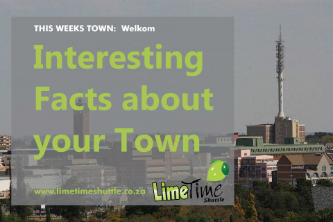 Limetime Shuttle ~ This weeks Town:  Welkom
