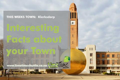 Limetime Shuttle ~ Klerksdorp - Town of the Week