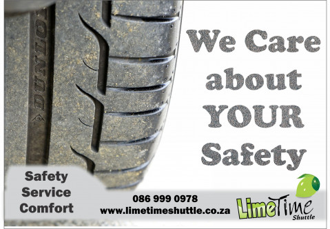 Limetime Shuttle ~ We care about YOUR Safety