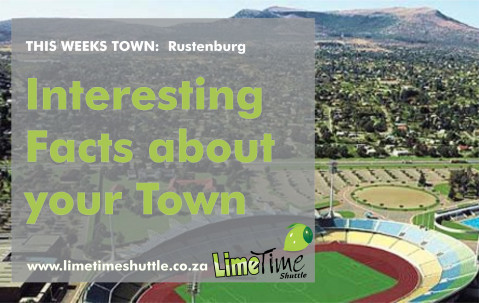 Limetime Shuttle Town of the Week