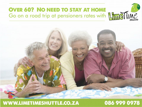 Limetime Shuttle Pensioners Rates