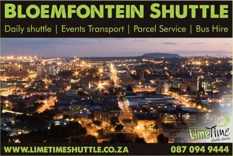 Bloemfontein shuttle