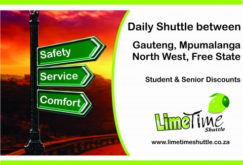 Daily Shuttle from OR Tambo to...