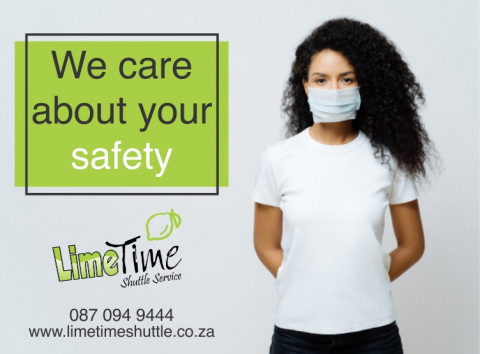 Limetime Shuttle's Covid-19 safety procedures