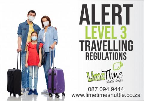 Travelling during Alert Level 3
